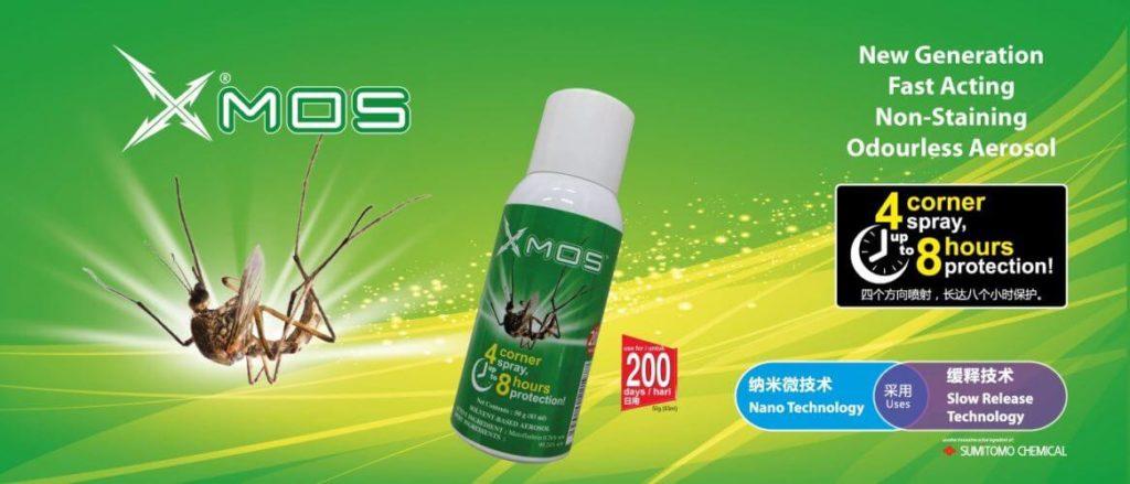 xmos mosquito repellent