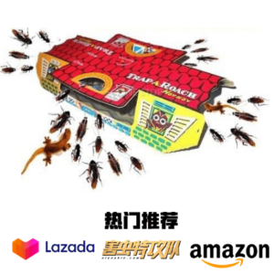 HoyHoy Cockroach Glue Traps 蟑螂屋 蟑螂陷阱
