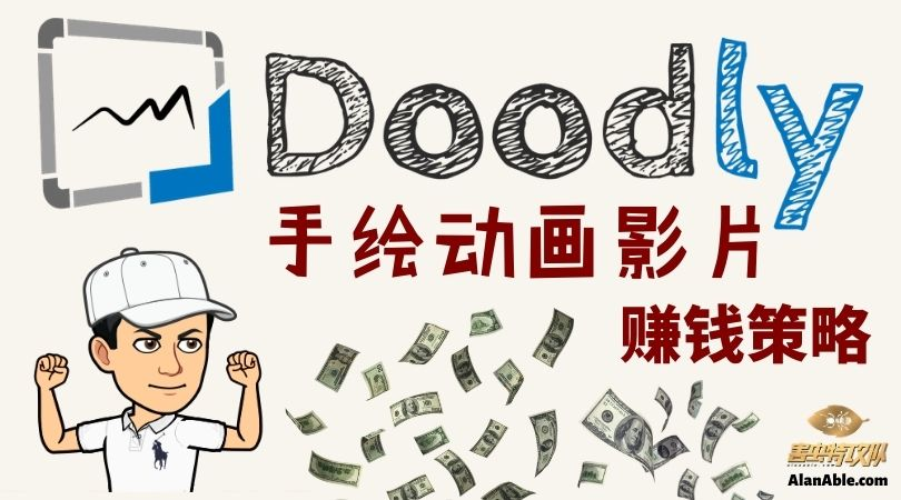 手绘动画影片 手绘影片制作Whiteboard Animation Doodly